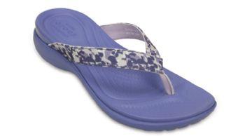 Crocs Womens Capri V Deco Flip